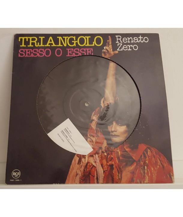 """ZERO RENATO - TRIANGOLO (VINYL 12"""" EDIZIONE LIMITATA NUMERATA)"""