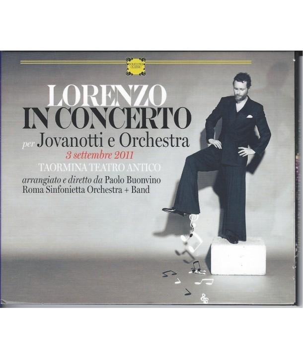 JOVANOTTI - LORENZO IN CONCERTO CON ORCHESTRA ( CD )