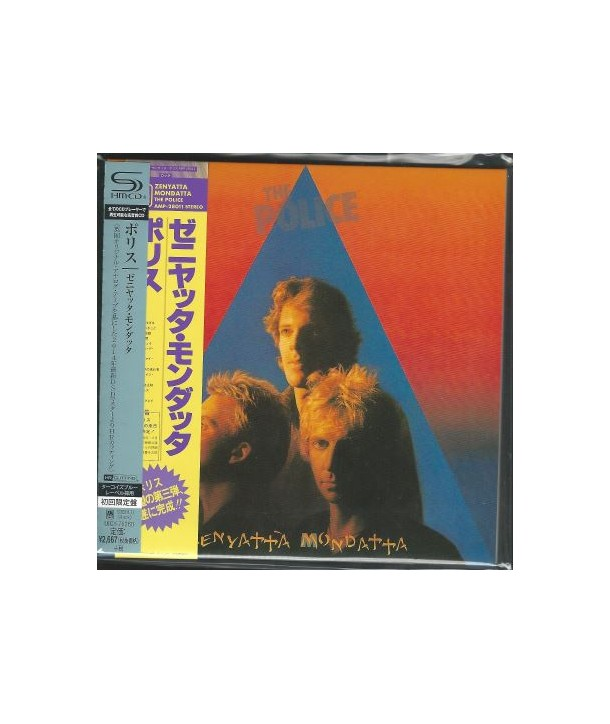 POLICE, THE - ZENYATTA MONDATTA ( SHM-CD JAPAN )