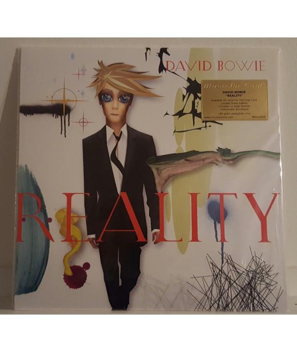 BOWIE DAVID - REALITY (LP GREEN)