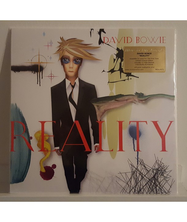 BOWIE DAVID - REALITY (LP ORANGE)