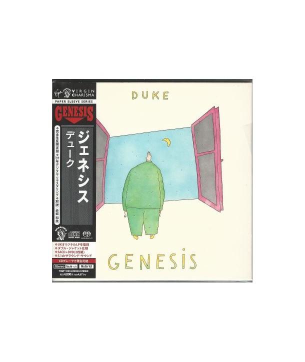 GENESIS - DUKE ( SACD + DVD LTD ED. JAPAN )