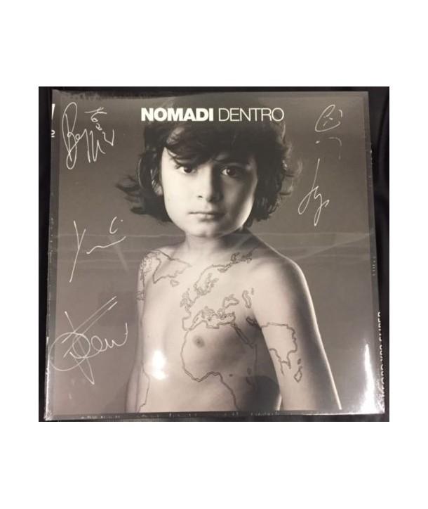 NOMADI - NOMADI DENTRO ( LP AUTOGRAFATO )