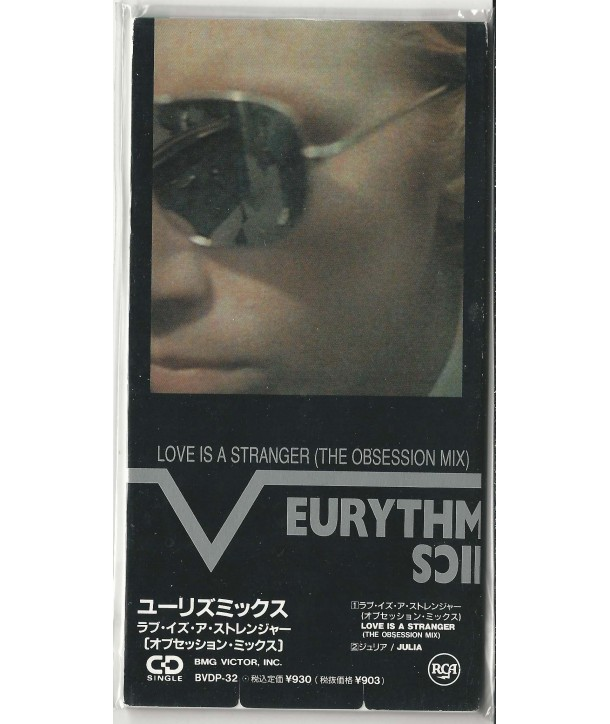 EURYTHMICS - LOVE IS A STRANGER ( THE OBSESSION MIX ) ( 3 MINI-CD JAPAN )
