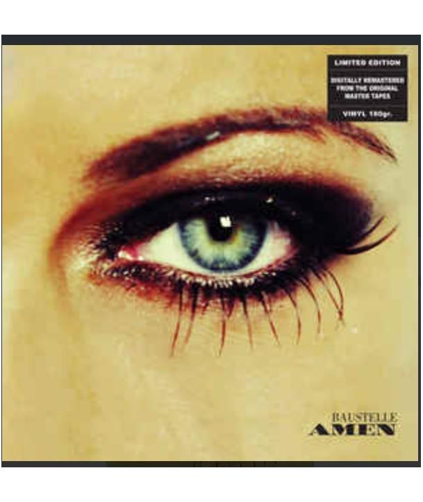 BAUSTELLE - AMEN ( 2 LP YELLOW NUMBERED )