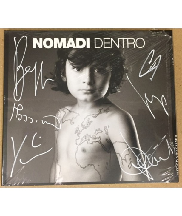 NOMADI - NOMADI DENTRO ( CD AUTOGRAFATO )