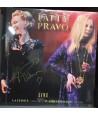 PRAVO PATTY - LIVE LA FENICE VENEZIA - TEATRO ROMANO VERONA ( DBL LP AUTOGRAFATO )
