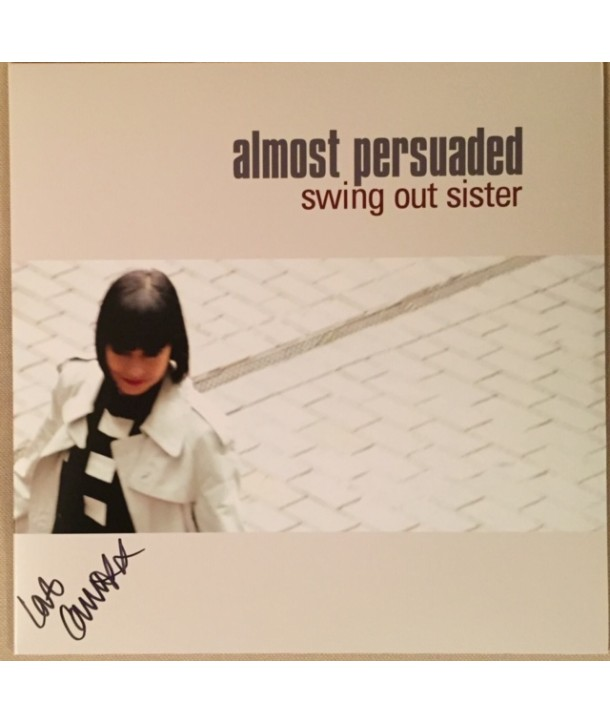 SWING OUT SISTER - ALMOST PERSUADED (SIGNED VINYL LP)