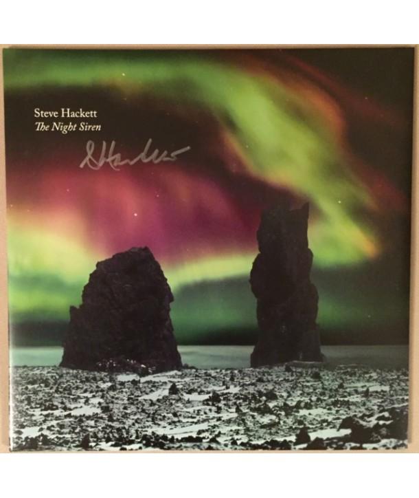 HACKETT STEVE - THE NIGHT SIREN ( 2 LP + CD SIGNED ) (NORTHERN LIGHT VINYL)