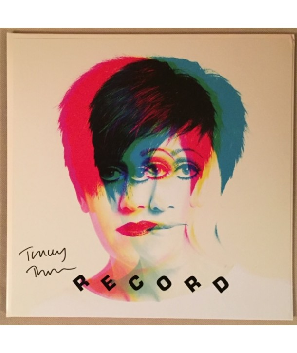 THORN TRACEY - RECORD (RED VINYL WITH SIGNED ARTPRINT)