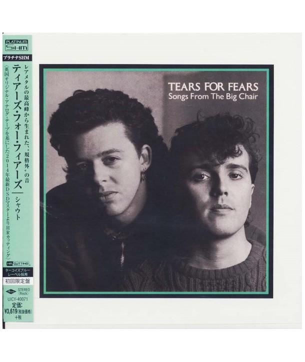 TEARS FOR FEARS - SONGS FROM THE BIG CHAIR (PLATINUM SHM-CD)