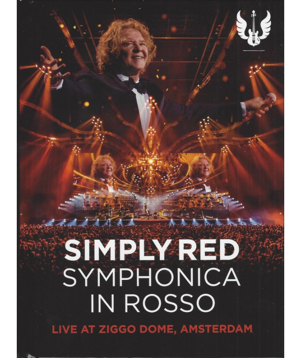 SIMPLY RED - SYMPHONICA IN ROSSO (LIVE AT ZIGGO DOME, AMSTERDAM) + SIGNED PRINTED SET LIST