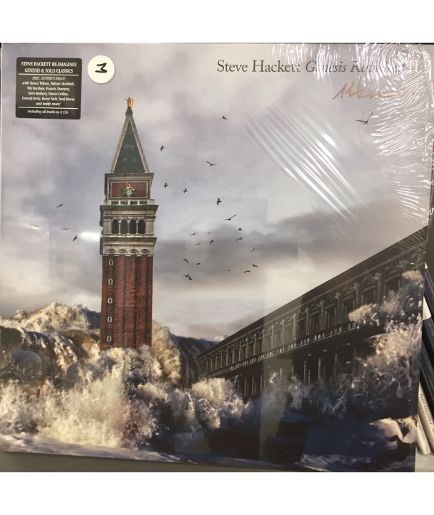 HACKETT STEVE - GENESIS REVISITED II ( SIGNED 4 WHITE LP + 2 CD )