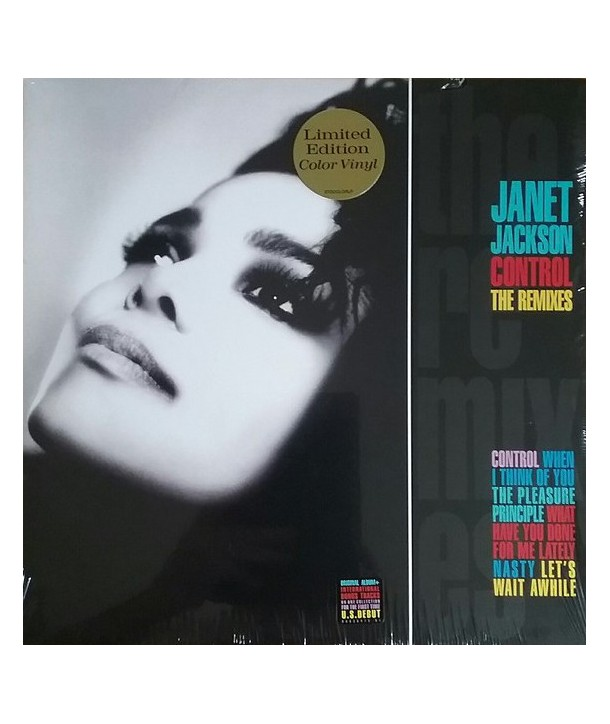 JACKSON JANET - CONTROL THE REMIXES ( 2 LP MULTICOLOUR )