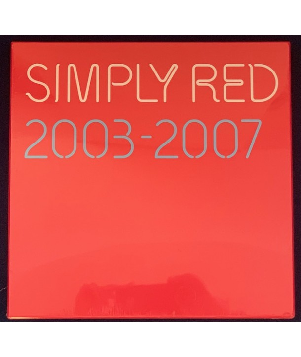 SIMPLY RED - 2003-2007 ( BOX 4 LP RED COLOURED VINYL )