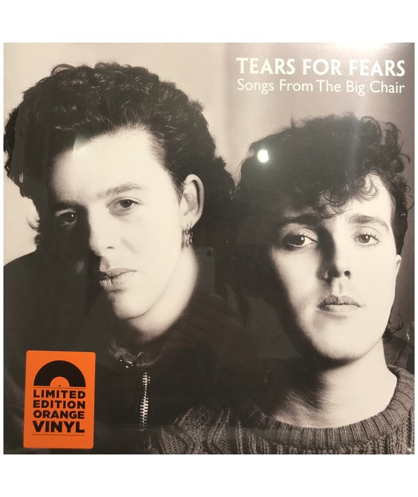 """TEARS FOR FEARS - SONGS FROM THE BIG CHAIR (ORANGE VINYL LP"""")"""