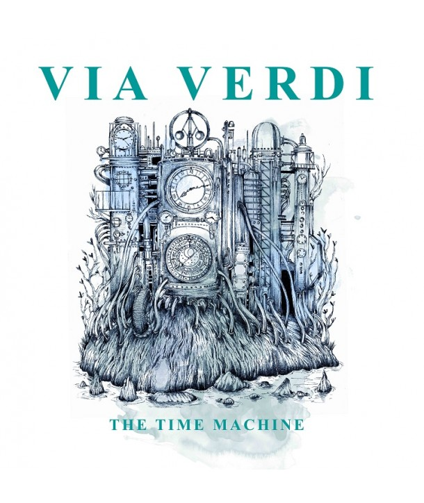 VIA VERDI - THE TIME MACHINE ( LP VINILE BIANCO )