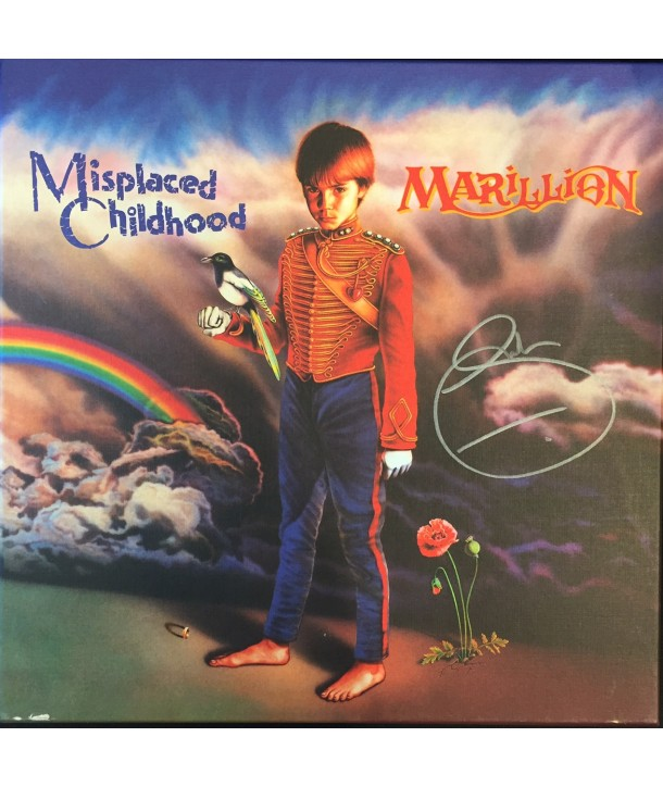 MARILLION - MISPLACED CHILDHOOD ( DELUXE EDITION 4 LP SIGNED BY FISH )