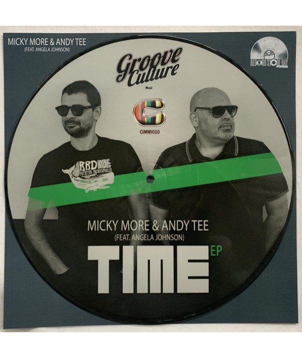 "MICKY MORE & ANDY TEE ""TIME"" ( 12"" PICTURE DISC) RSD 2020"