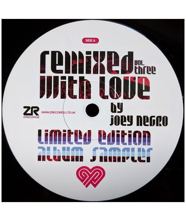 "JOEY NEGRO - REMIXED WITH LOVE BY JOEY NEGRO (VOL. THREE)(VINYL 12"" LTD ED NUMBERED)"