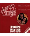 """JOEY NEGRO - REMIXED WITH LOVE - ASHFORD & SIMPSON - FOUND A CURE ( 12"""" RED VINYL )"""