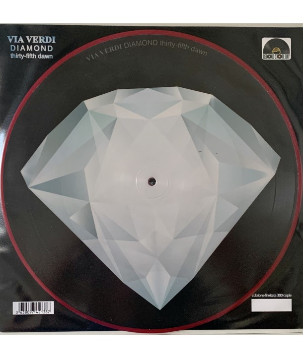 """VIA VERDI - DIAMOND (Thirty-Fifth Dawn) 12"""" PICTURE DISC NUMBERED"""