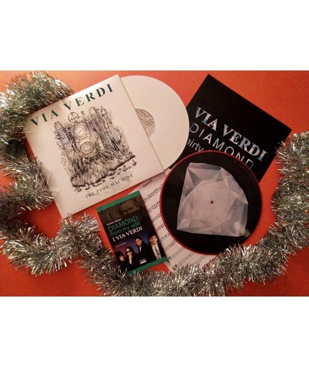 "Via Verdi Bundle 1 ( LP BIANCO + 12"" Picture Disc + Libro"