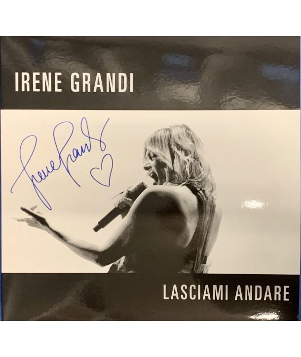IRENE GRANDI LP LASCIAMI ANDARE (VINILE BLU )