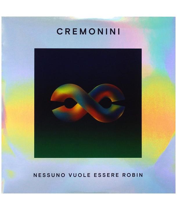 """Cesare Cremonini – Nessuno Vuole Essere Robin (VINILE 7"""" transparent green)"""