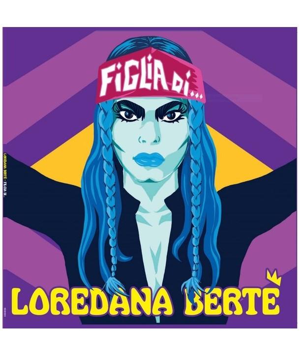 """Loredana Bertè – Figlia Di ......../ Tequila E San Miguel (VINILE 12""""GIALLO)"""