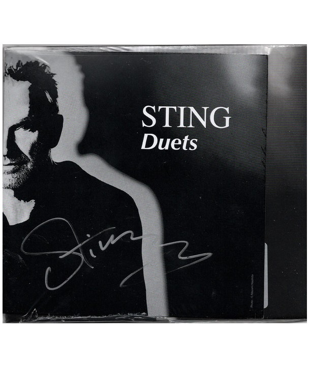 Sting – Duets (CD SIGNED)