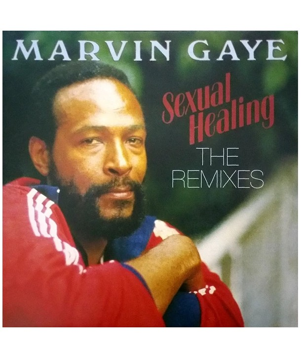 "Marvin Gaye – Sexual Healing - The Remixes (VINILE 12"" RED SMOKE)"