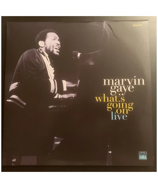arvin Gaye – What's Going On Live (2lp - TURCHESE TRANSLUCIDO)