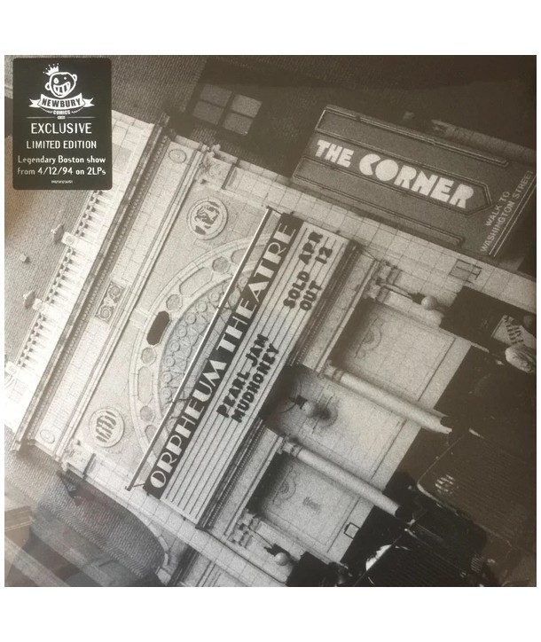 Pearl Jam – Live At The Orpheum Theatre April 12 1994 (2 LP)