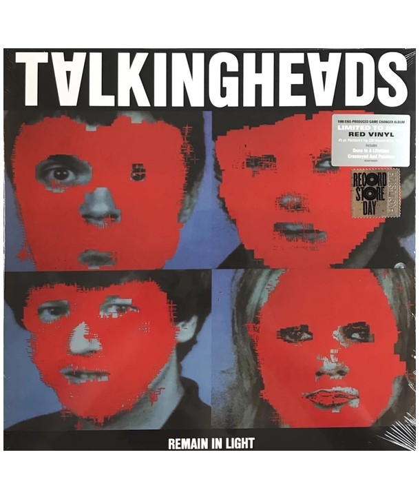 Talking Heads – Remain In Light ( LP - Red Transparent )
