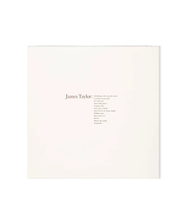 James Taylor – James Taylor's Greatest Hits (LP -CLEAR)