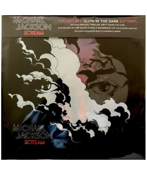 Michael Jackson – Scream (2LP -Glow In The Dark-Translucent Blue w/ Luminous Splatter)