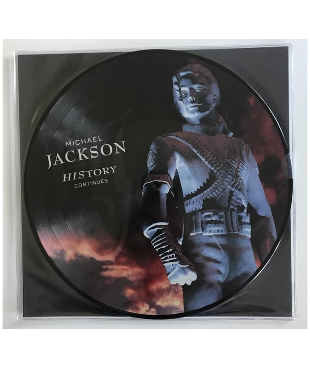 Michael Jackson – HIStory Continues (2LP - PICTURE DISC)