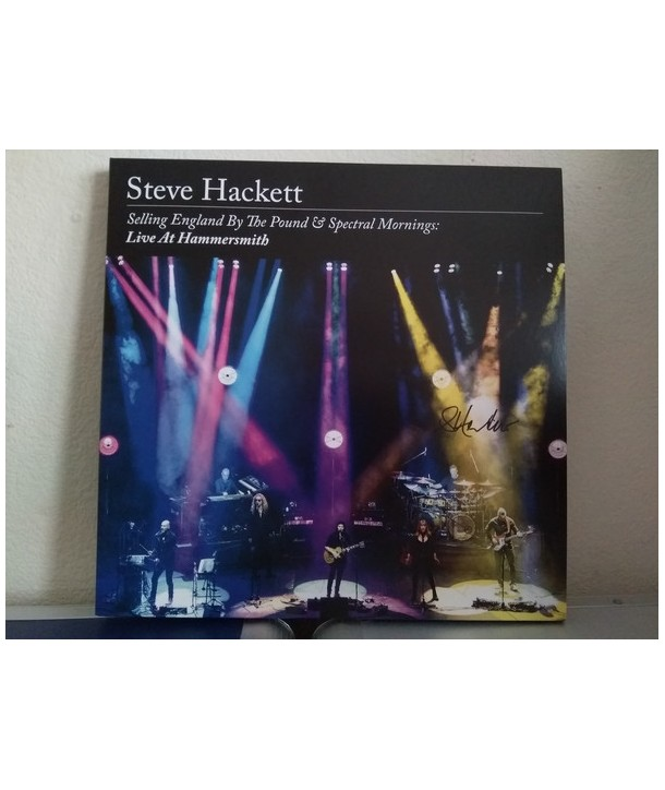Steve Hackett – Selling England By The Pound & Spectral Mornings: Live At Hammersmith (4LP -2CD)