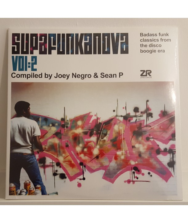 COMPILATION - SUPAFUNKANOVA VOL. 2 - BY JOEY NEGRO