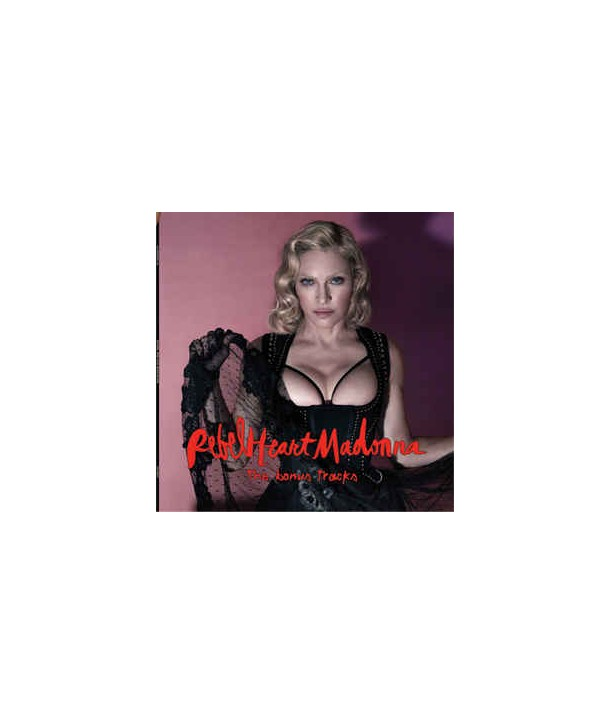 MADONNA - REBEL HEART (BONUS EDITION) (CLEAR ED. LTD ED.)