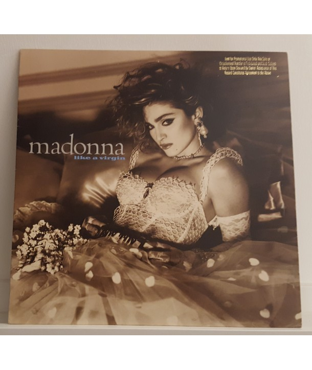 MADONNA - LIKE A VIRGIN (WHITE ED. PROMO)